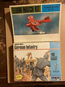 1/72 ELDON MATCH KIT ALBATROSS D-III,  48  MPC /AIRFIX WORLD WAR I GERMANS