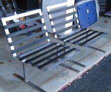 ( 2 ) Vintage Mid-Century 60's Milo Baughman? Chrome Lounge Chairs L@K!