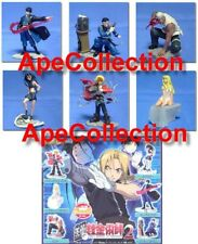 Set 6 Figure FULL METAL ALCHEMIST PART 2 Originali BANDAI JAPAN Gashapon FIGURES