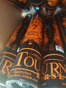 6 tube RSL TOURNEY NO.7 Badminton Feather Shuttlecocks