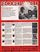 Record World April 21 1973 Atlanta/Macon w/ML EX 120415DBE
