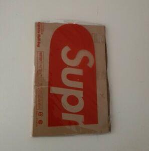 Very rare new/ unopened Supreme drawstring multi bag from 2007 box logo vintage