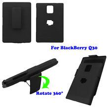 Combo Slide Hard Case+Holster Belt Clip Kickstand For BlackBerry Passport Q30