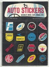 1970 Topps Wayout Wheels AUTO Sticker # 8 of 22  Quaker State