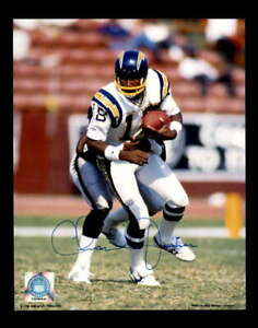 Charlie Joiner Hand Signed 8x10 Photo Autograph Chargers