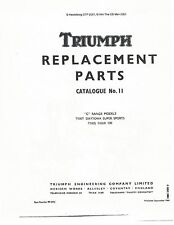 Triumph Parts Manual Book 1970 Daytona Super Sports T100T & Tiger 100 T100S