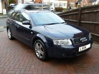 2004 AUDI A4 QUATTRO Avant B6 1.9 TDI SE 130HP BLUE 200K MANUAL
