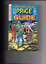 Overstreet The Comic Book Price Guide No. #9 1979 Wally Wood cover