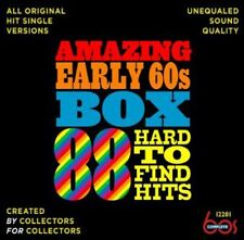 Amazing Early 60s Box: 88 Hard-To-Find Hits (2013, CD NEUF)3 DISC SET