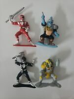 Mighty Morphin Power Rangers Small Figurines 1990s Vintage Toys 90s Saban Bandai