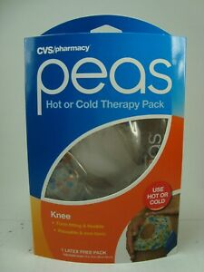 CVS Pharmacy Peas Hot or Cold Latex Free Reusable Therapy Knee Pack New Sealed