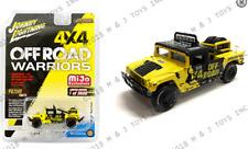 Johnny Lightning Hummer H1 Race Truck Yellow JLCP7157 1/64 3600 PCS