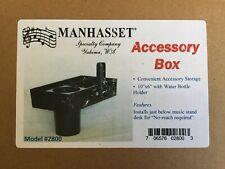 Manhasset #2800 Accessory Box w/ Hanger For Music Stand - Water Bottle Holder