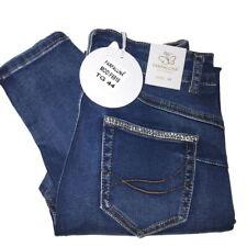 Farfallina Jeans donna skinny signora slim elasticizzati aderenti denim sexy