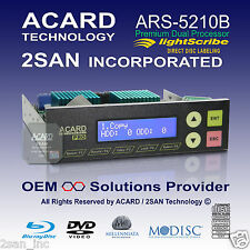 ACARD ARS-5210B Premium 1-to-10/11 SATA ODD DVD/CD/Blu-Ray Duplicator Controller