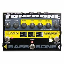 Radial Engineering Tonebone Bassbone V2 Bass Preamp and DI Box 2-DAY DELIVERY!