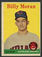 1958 Topps #388 Billy Moran EX/EX+ RC Rookie Indians 24387