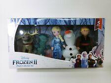 Disney Frozen 2 Plush Collector Set-5 w Salamander, Olaf, Sven, Elsa, Christophe