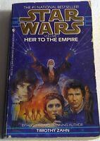 Star wars vintage book paperback heir to the empire Hugo Award Timothy Zahn