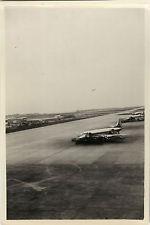 PHOTO ANCIENNE - VINTAGE SNAPSHOT - AVION AÉROPORT ORLY TARMAC - AIRPORT PLANE
