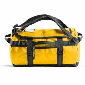 The North Face Base Camp Duffel 31L Size XS in SUMMIT GOLD/TNF BLACK