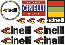 3x Cineli Laser colour or Red resin sticker stickers decals Vintage for bicycle