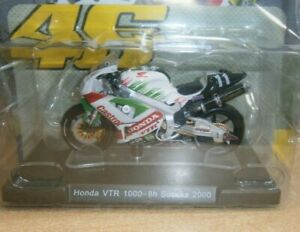 Panini Rossi Bike Collection Partwork #22 Diecast 1:18 Scale Model Honda VTR1000