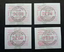 Finland NORDIA 1993 ATM (Frama Label stamp) CTO *rare