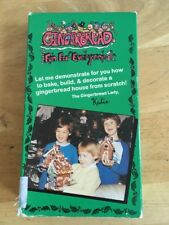 GINGERBREAD HOUSE kids cooking Fun For Everyone VHS Bake Decorate Christmas