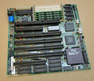 Intel 001-00486-008 Socket 7 Motherboard complete with Intel i486 DX Processor