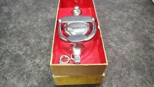 "Ives 6"" x 3"" Door Knocker Solid Bright Brass Chrome Finish 752B-26 New Old Stock"