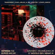 Between The buried and Me Automata I Transparent Clear Splatter Limited Vinyl