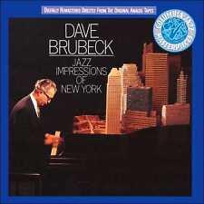 DAVE BRUBECK : JAZZ IMPRESSIONS OF NEW YORK (CD) sealed