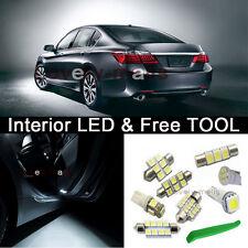 White Interior LED Package Kit Bulbs Dome light 2006-2012 Honda Civic + TOOL Z1