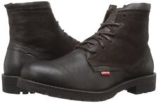 NEW Levis Men's Hawthorn Engineer Leather Boot, US 13 Medium, Brown