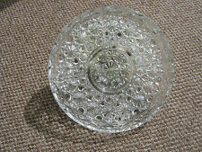 Cut Glass Party Dish