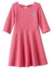 Disney Jumping Beans Minnie Mouse Pink Dot Knit Dress Toddler Girls' Size 2T NEW