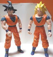 Dragonball Goku + Goku Super Sayan Giochi Preziosi 1989 Dragon ball