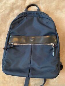 Knomo Beauchamp Navy Backpack