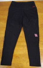 NWOT Victoria's Secret PINK Ultimate MEDIUM Black Ankle Legging Mesh UH COOGS