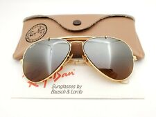 Vintage B&L Ray Ban Bausch & Lomb B15 TGM Gold Plated Outdoorsman 58mm w/Case
