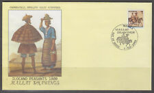 Philippine Stamps 2002 Ilocano Peasants (Mallat Drawings 5p) on First Day Cover