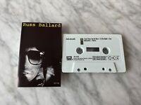 Russ Ballard Self Titled CASSETTE Tape 1984 EMI 4XT-17108 The Roulettes RARE!