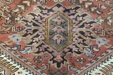 Authentic Wool Rnrn-417 8'2'' x 11'1'' Persian Mahal Rug