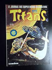 Titans N°40 TBE Lug Comics Semic Marvel