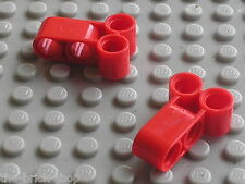 2 pieces LEGO TECHNIC red pin joiner ref 32557 / Sets 8039 8261 8386 8140 8558