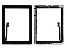 10 X Black Touch Digitizer Home Button Adhesive Camera Bracket for iPad 3 iPad 4