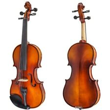 Paititi 15'' Size Upgrade Solid Wood Ebony Fitted Viola with Case Bow and Rosin