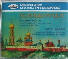 TCHAIKOVSKY Symphonies 1 - 6 ANTAL DORATI Mercury 5CD SET Germany