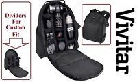 Pro Deluxe Backpack Case Bag For Canon EOS Rebel 10D 30D 5D 7D XS XSi 450D 1000D